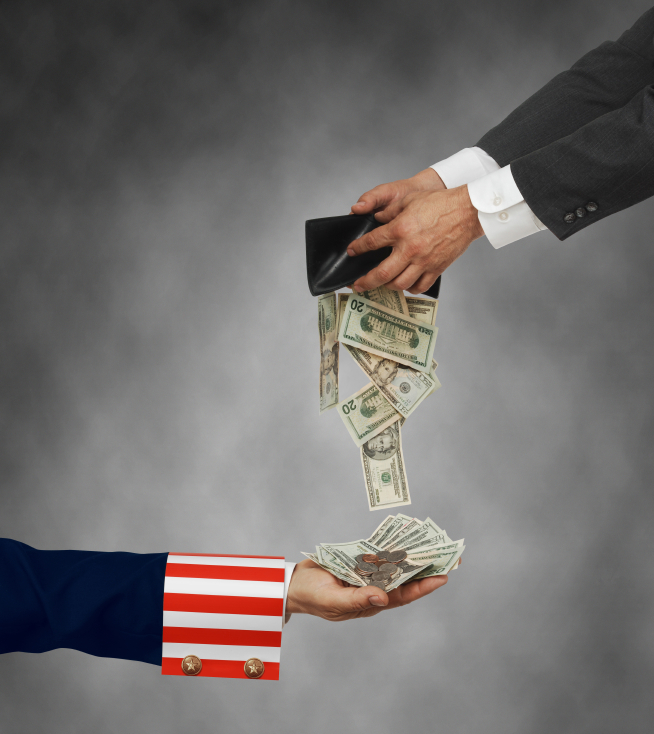 Uncle Sam and Flat Tax 2 14
